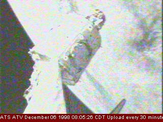 Live ATV picture on the repeater in 1998.